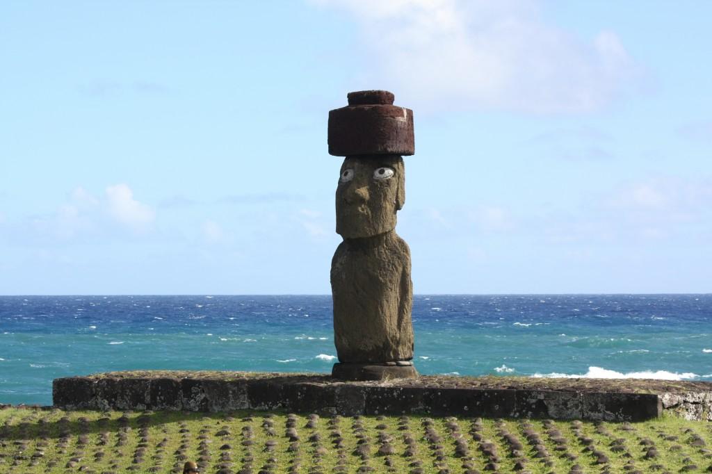 ahu ko Te Riku en rapa nui isla de pascua