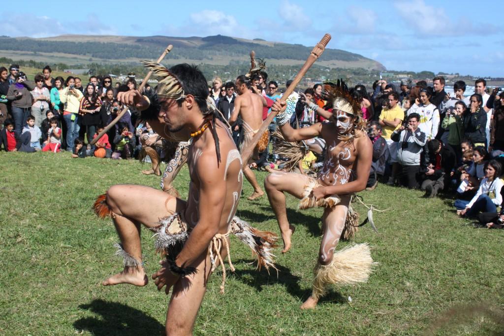 danza rapa nui isla pascua
