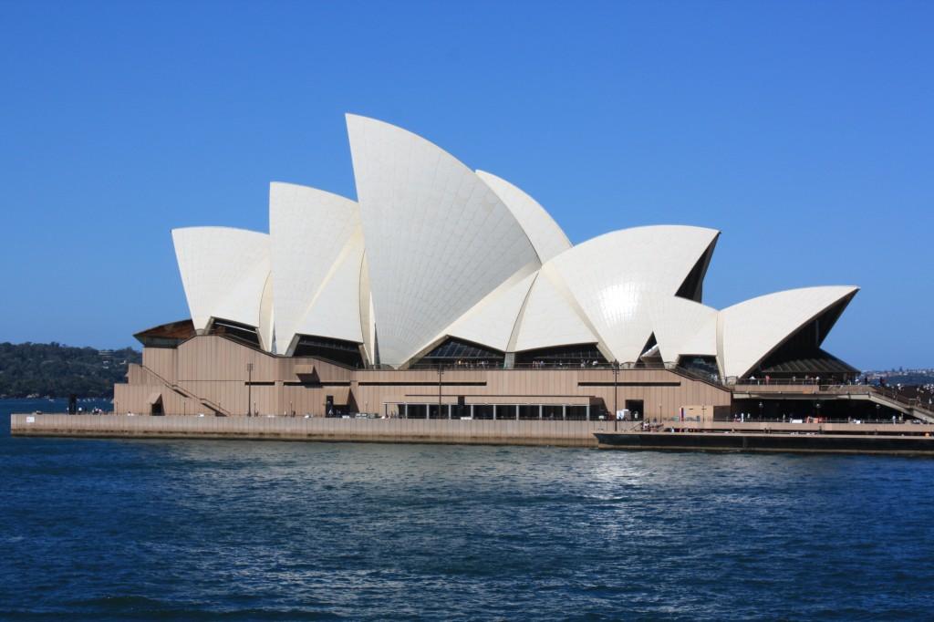 sydney opera house desde the rocks