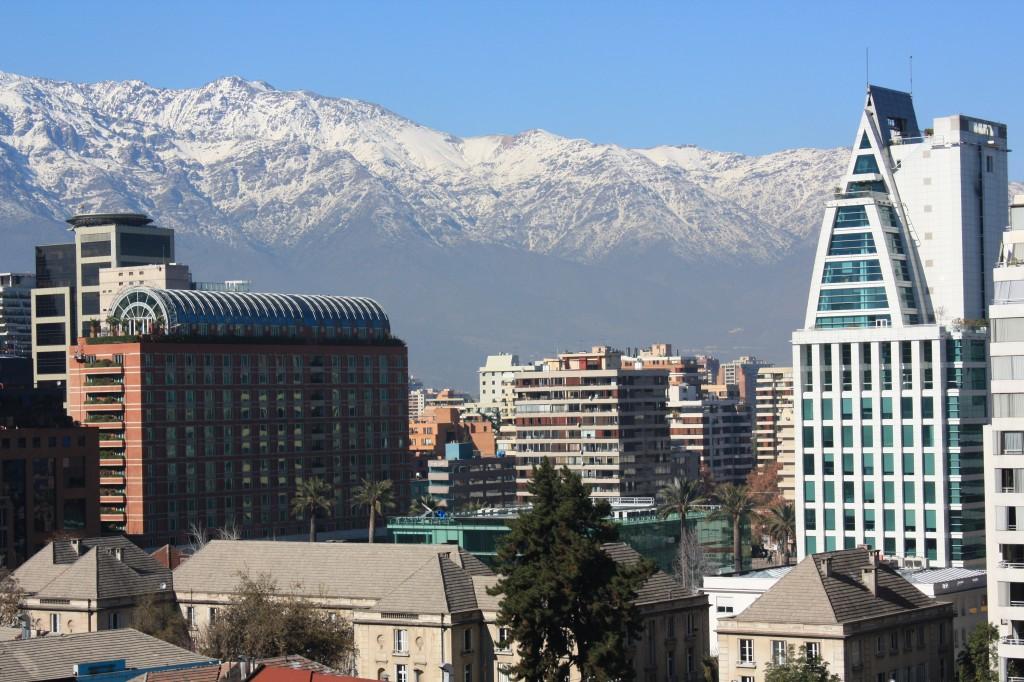 Vistas desde el hotel W Santiago