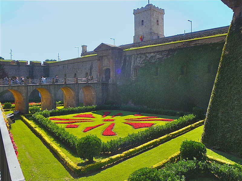 Castell de Montjuïc, foto de http://es.wikipedia.org/wiki/Castillo_de_Montjuic