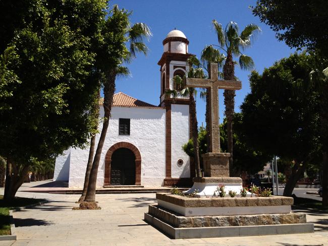 Iglesia de Antigua, en Fuerteventura