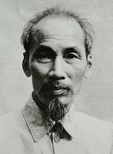 Ho Chi Minh en 1946. Clica en la foto para leer su biografía en la Wikipedia