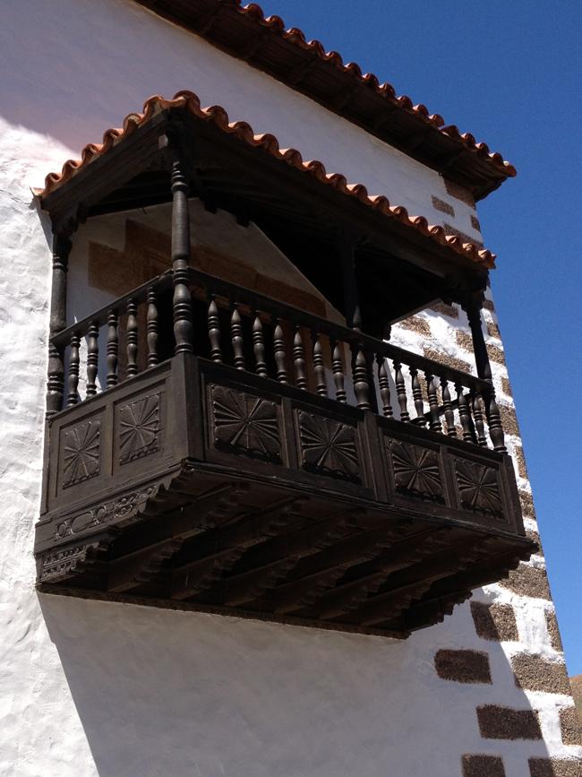 Balcón canario en Betancuria