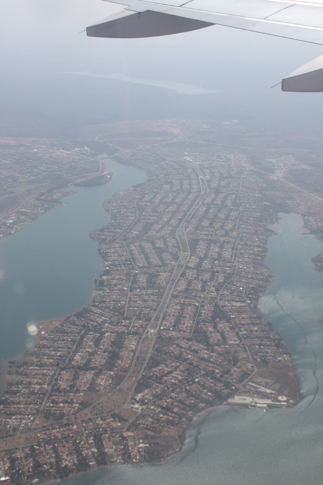Brasilia desde el aire crónicas viajeras
