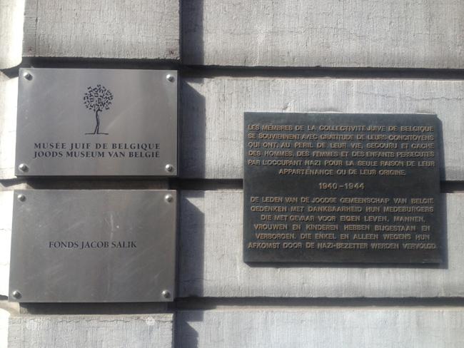 Hay que aprender de las tristes secuelas de las guerras mundiales. El Museo Judío de Bruselas hace honor a las víctimas del horror
