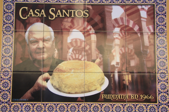 tortilla de patatas en córdoba