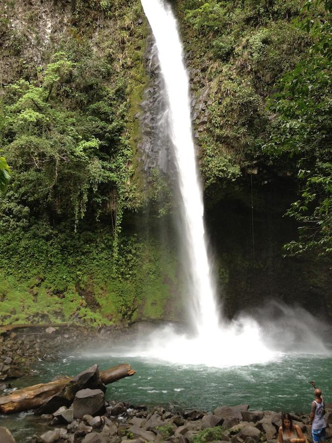 Catarata La Fortuna (Volcán Arenal -  Costa Rica)