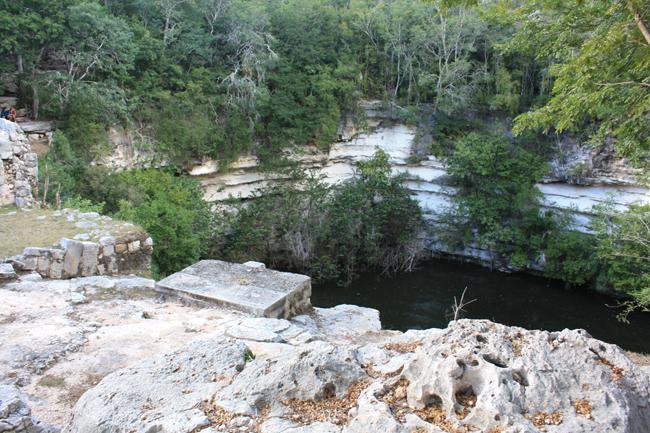 cenote sagrado chichen itzá