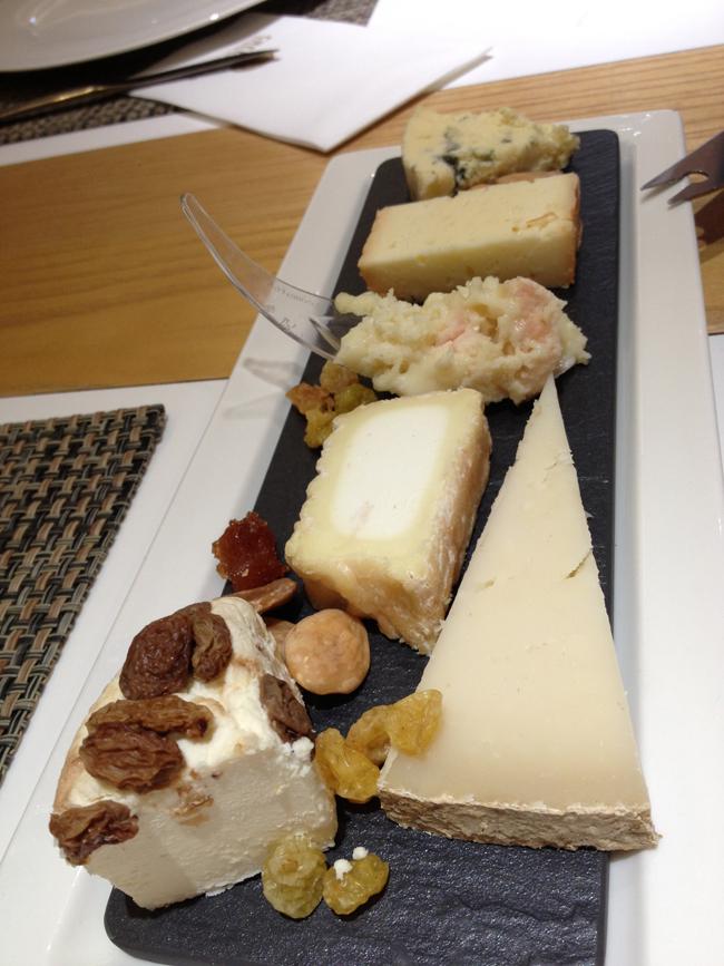 La tabla de quesos del chef del día