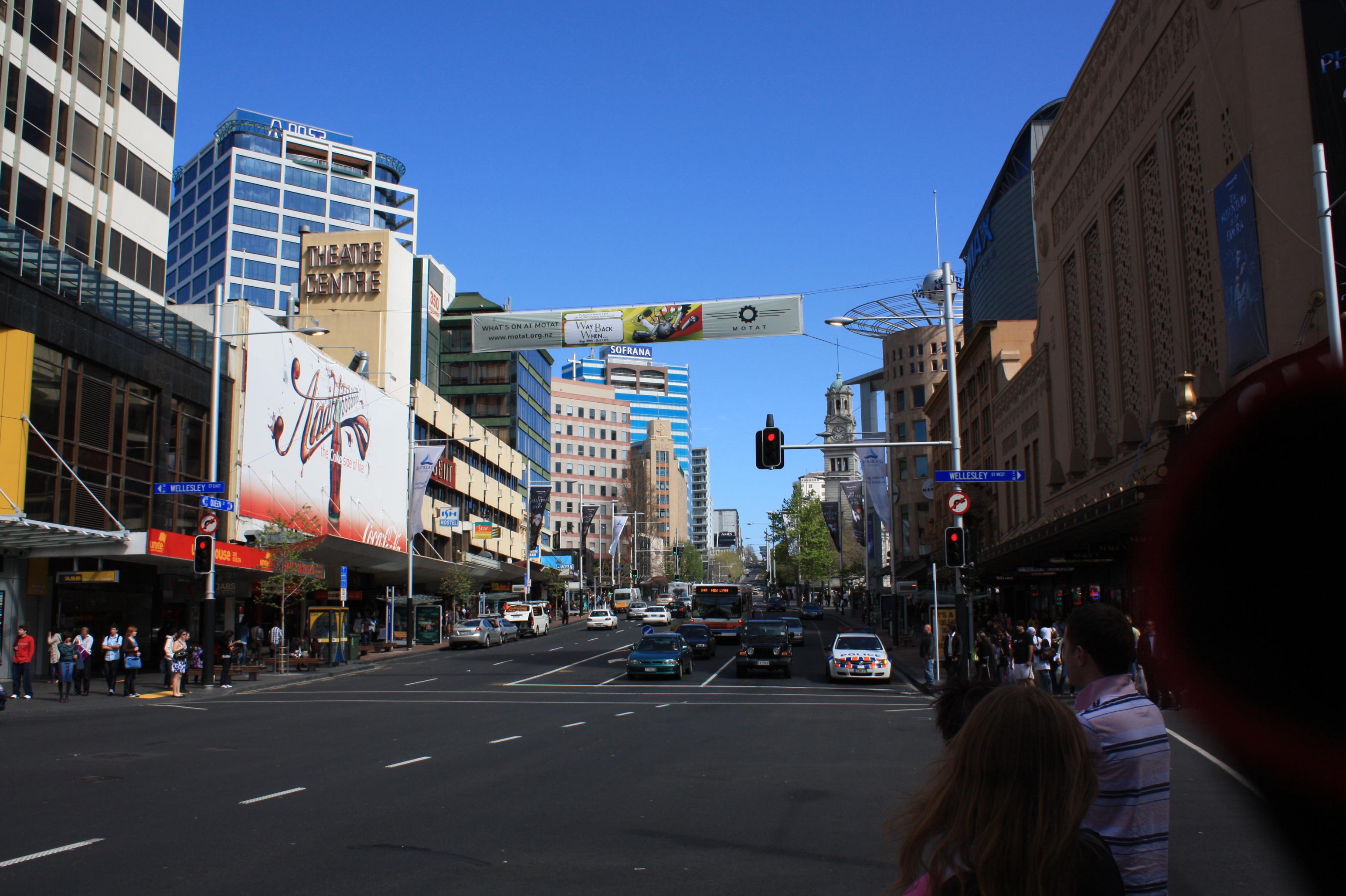 De paseo por Auckland, la mayor ciudad de Nueva Zelanda : Crónicas ...