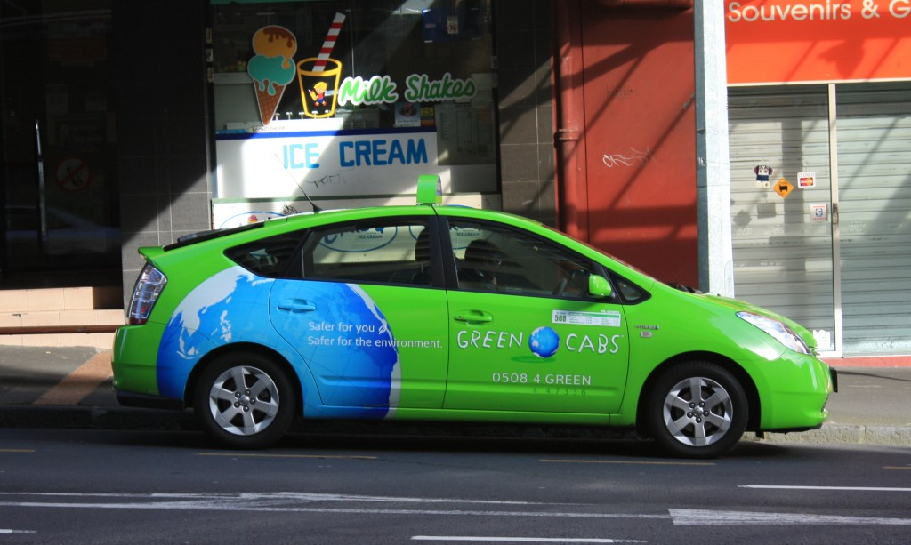 cronicas viajeras auckland green cab