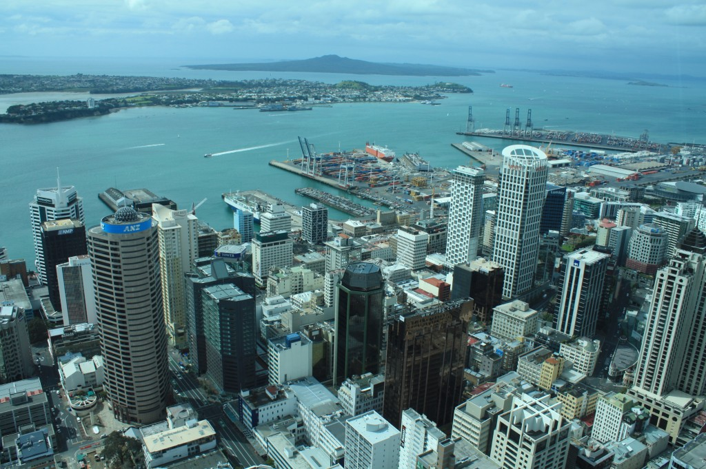 cronicas viajeras auckland torre centro skytower