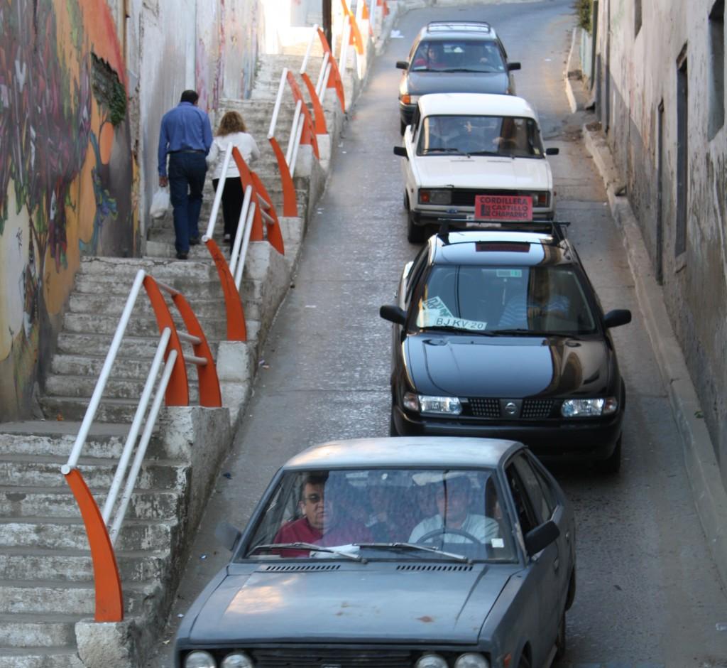 cronicas viajeras valparaiso coches