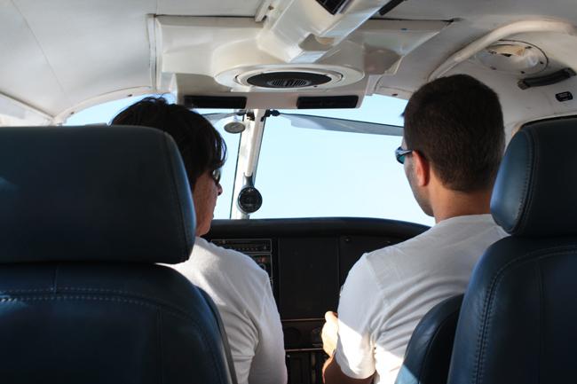 cronicas viajeras pilotando