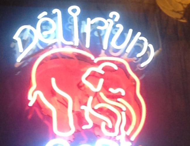 En el Delirium café de Bruselas