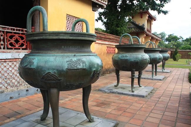 La Ciudad Prohibida de Hué fue la residencia de los emperadores de Vietnam