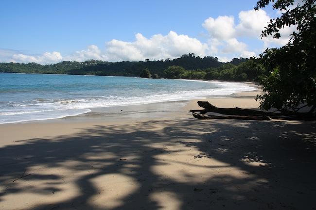 Playa en el Parque Manuel Antonio