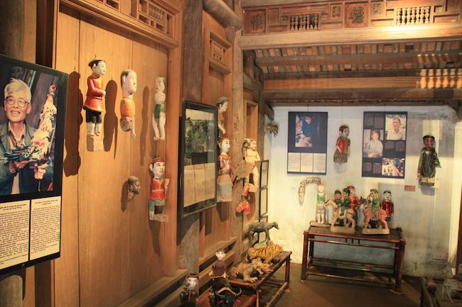 Taller artesanal de marionetas en el Museo Etnográfico