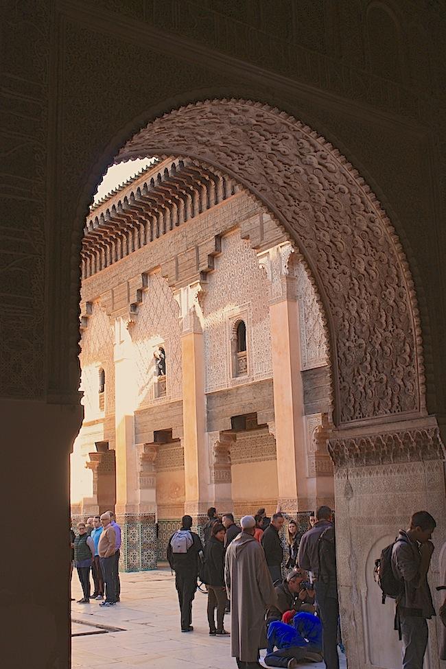 La Madraza Ben Yousef de Marrakech tiene rincones y detalles como éste