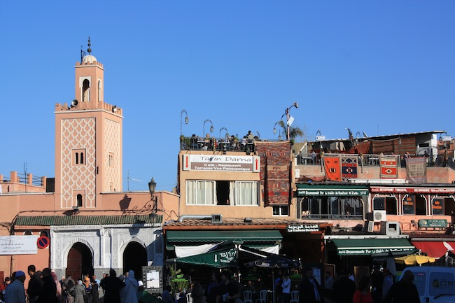 Marrakech: plaza Jemma el-Fna