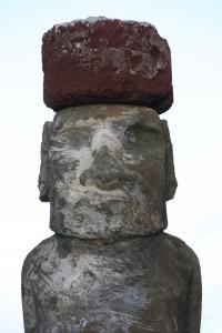 moai con pukao