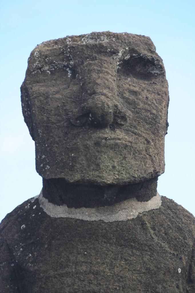 moai cuello fracturado isla de pascua rapa nui