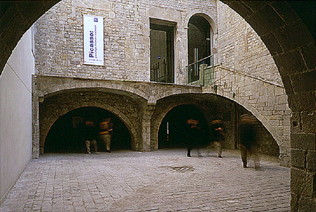 Museo Picasso, foto de Lluís Casals para la web www.museupicasso.bcn.cat