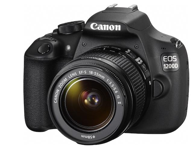 Así luce la nueva Canon 1200D