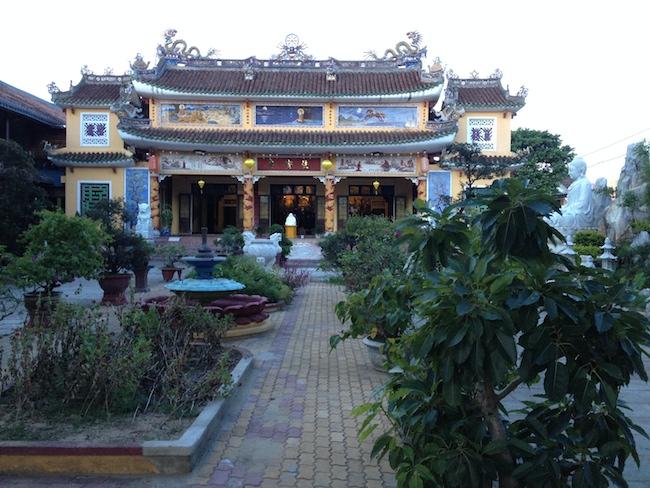 Una de las mayores pagodas de Hoi An