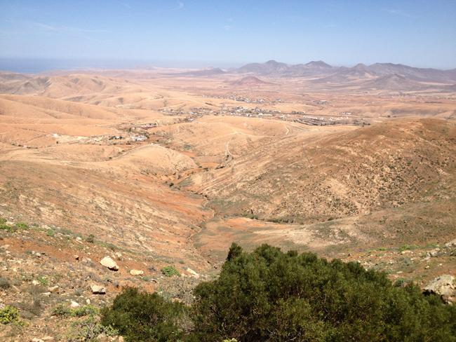 Paisaje en Fuerteventura