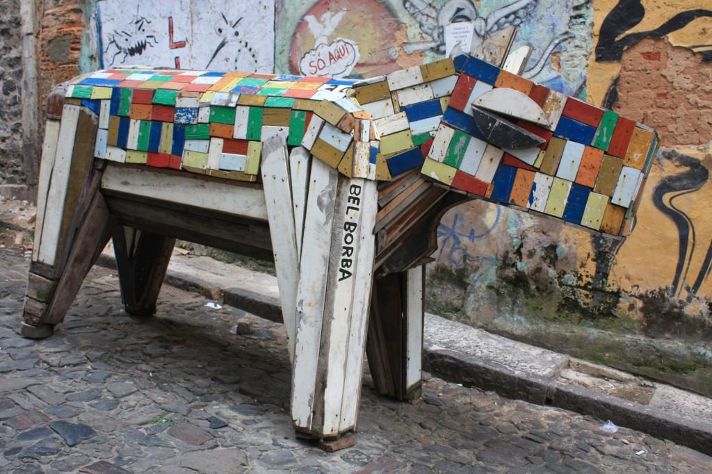 pelourinho escultura bel borba cronicas viajeras