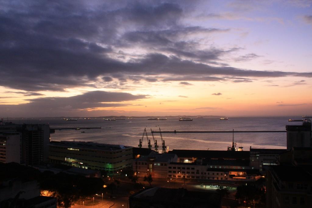 pelourinho puesta de sol sobre bahia desde cafelier cronicas viajeras