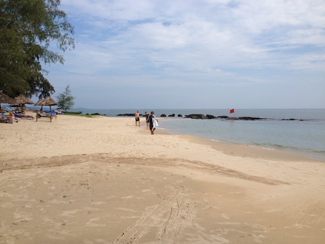 Playa en Phu Quoc, muy cerca del Mango Bay
