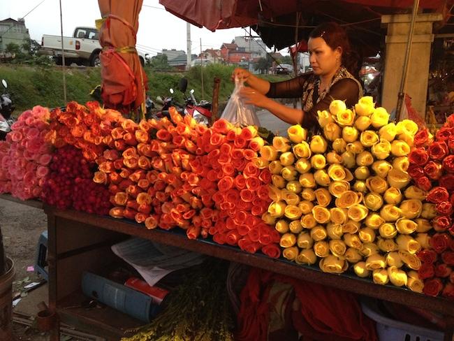 Rosas de Sapa en Hanoi