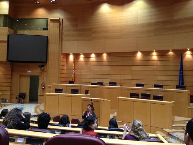 salón de plenos del Senado