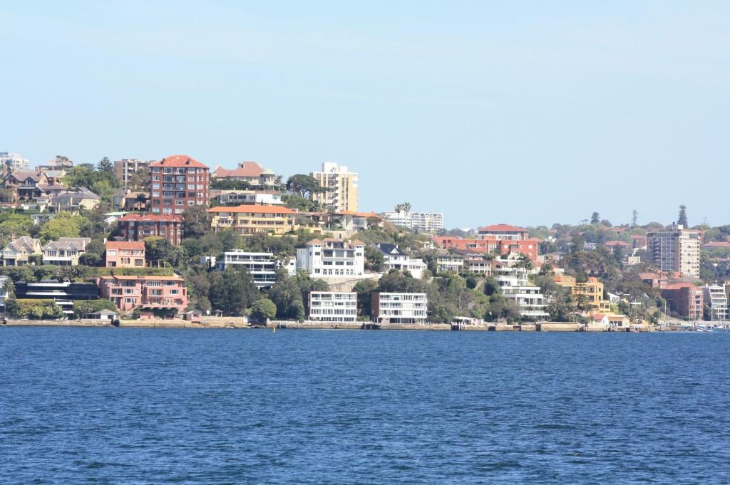 sydney desde el mar