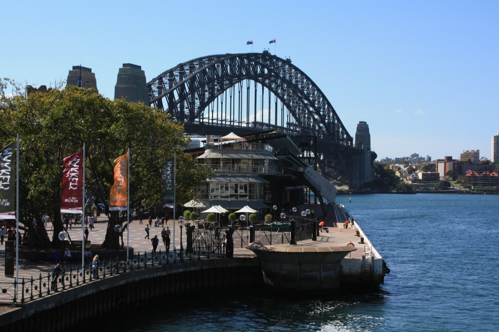 sydney harbour bridge -  the rocks