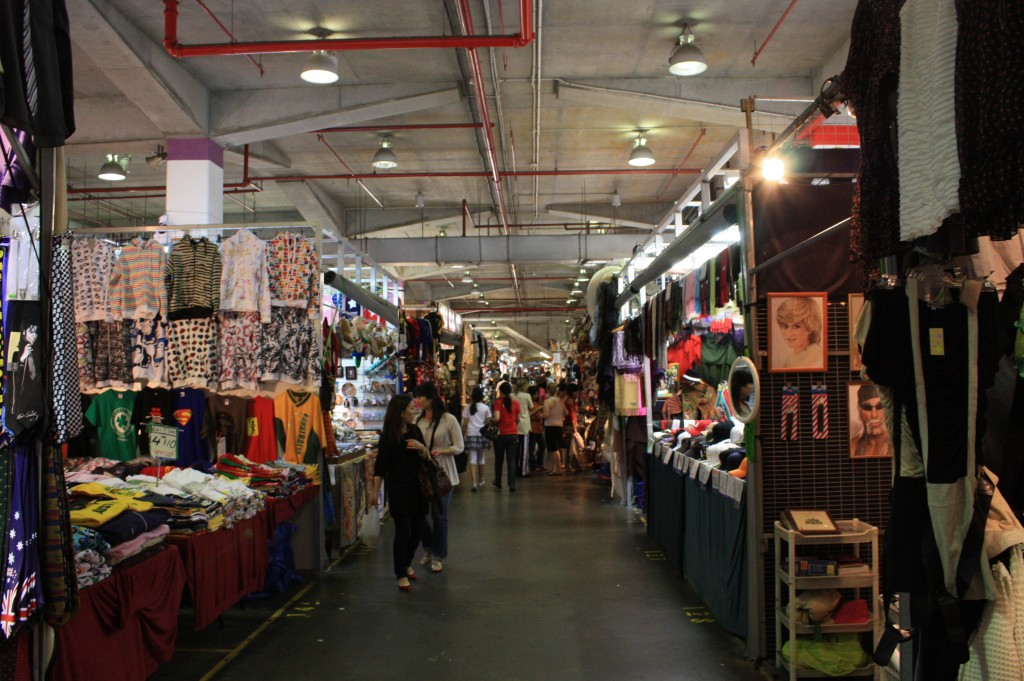 Interior de paddy markets en Chinatown (Sydney)