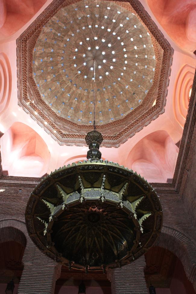 Lámpara en el Teatro Real