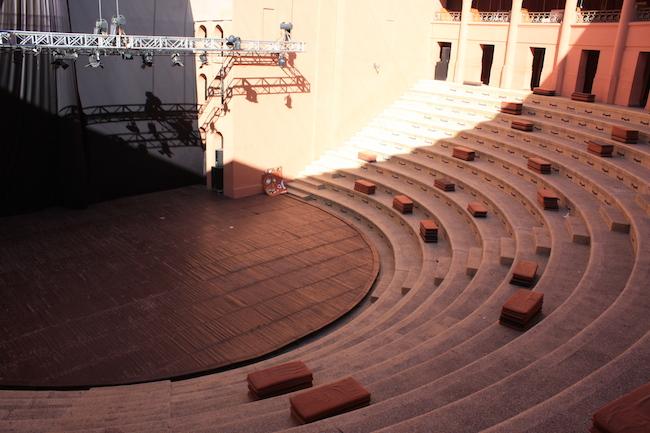 el auditorio al aire libre