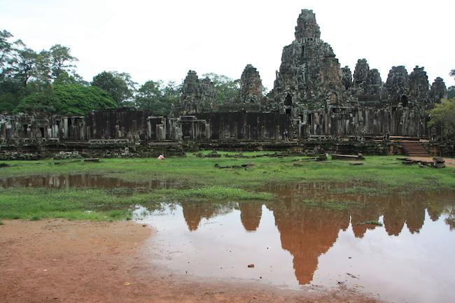 Uno de los templos de Angkor