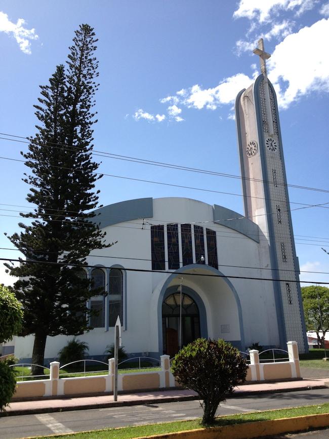 Iglesia en Tilarán, Costa Rica