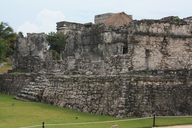 Construcciones mayas en Tulum