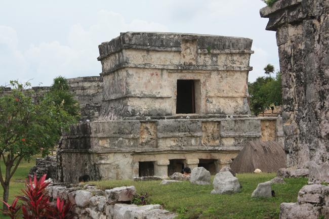 Templete en Tulum
