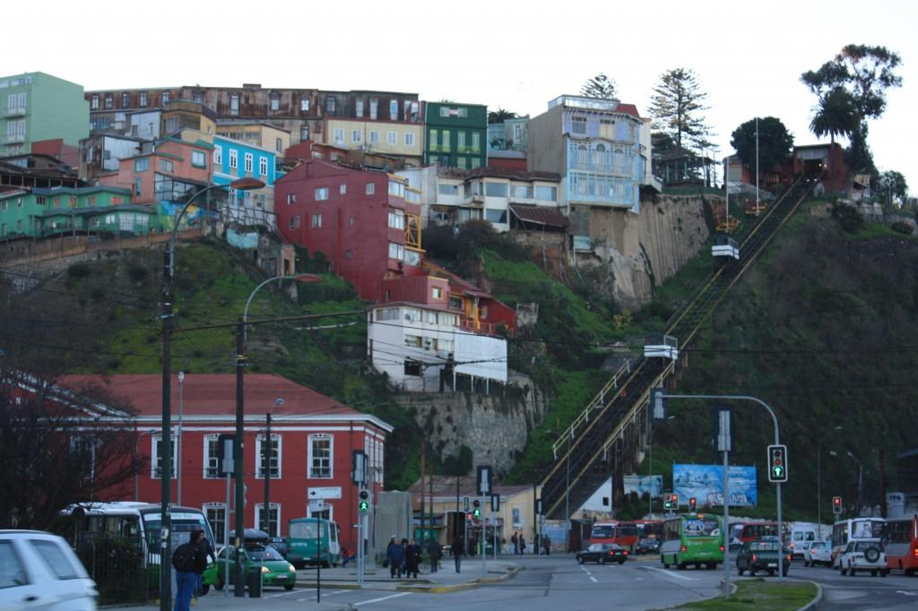 valparaiso funicular cerro armada