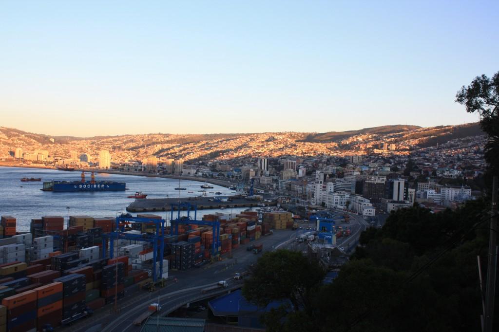 valparaiso vistas desde cerro armada