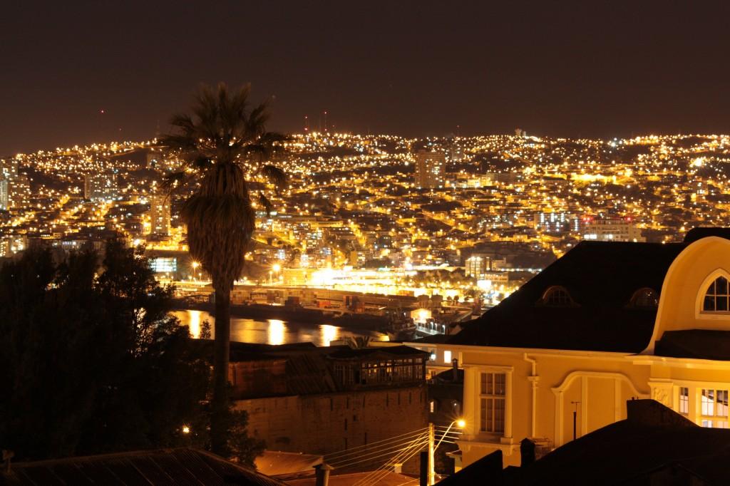 vistas desde casa Higueras Valparaiso