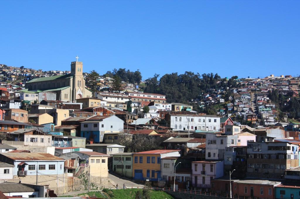 vistas al cerro desde la terraza de Casa Higueras