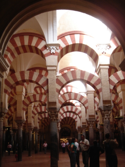Interior de la mezquita de Córdoba (2007)
